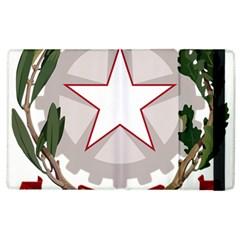 Emblem Of Italy Apple Ipad 2 Flip Case by abbeyz71