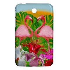 Flamingo Samsung Galaxy Tab 3 (7 ) P3200 Hardshell Case  by Valentinaart