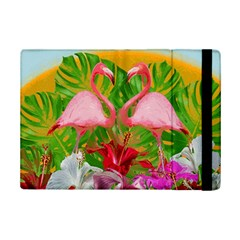 Flamingo Ipad Mini 2 Flip Cases by Valentinaart