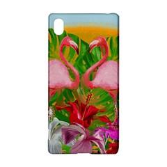 Flamingo Sony Xperia Z3+ by Valentinaart