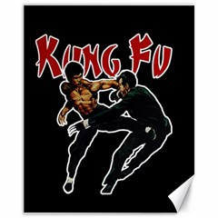 Kung Fu  Canvas 11  X 14   by Valentinaart