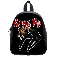 Kung Fu  School Bags (small)  by Valentinaart