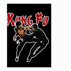 Kung Fu  Small Garden Flag (two Sides) by Valentinaart