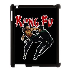 Kung Fu  Apple Ipad 3/4 Case (black) by Valentinaart