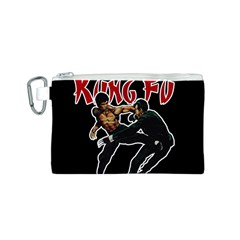 Kung Fu  Canvas Cosmetic Bag (s) by Valentinaart
