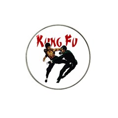 Kung Fu  Hat Clip Ball Marker by Valentinaart