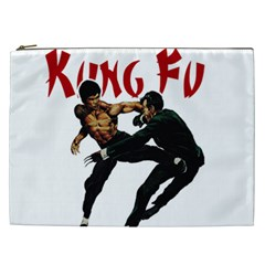 Kung Fu  Cosmetic Bag (xxl)  by Valentinaart