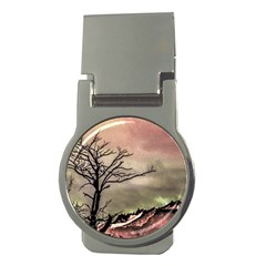 Fantasy Landscape Illustration Money Clips (round)  by dflcprints