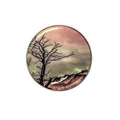 Fantasy Landscape Illustration Hat Clip Ball Marker (4 Pack) by dflcprints