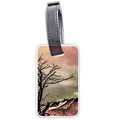 Fantasy Landscape Illustration Luggage Tags (two Sides) by dflcprints