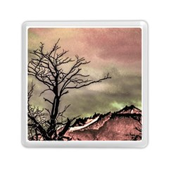 Fantasy Landscape Illustration Memory Card Reader (square)  by dflcprints