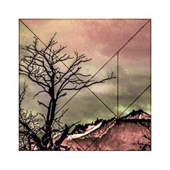 Fantasy Landscape Illustration Acrylic Tangram Puzzle (6  X 6 ) by dflcprints