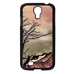 Fantasy Landscape Illustration Samsung Galaxy S4 I9500/ I9505 Case (black) by dflcprints