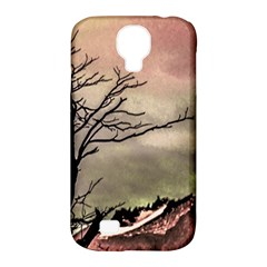 Fantasy Landscape Illustration Samsung Galaxy S4 Classic Hardshell Case (pc+silicone) by dflcprints