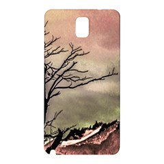 Fantasy Landscape Illustration Samsung Galaxy Note 3 N9005 Hardshell Back Case by dflcprints