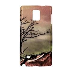 Fantasy Landscape Illustration Samsung Galaxy Note 4 Hardshell Case by dflcprints