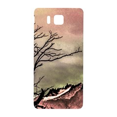 Fantasy Landscape Illustration Samsung Galaxy Alpha Hardshell Back Case by dflcprints