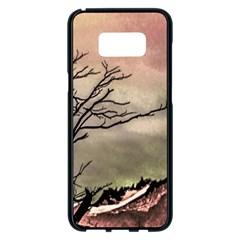 Fantasy Landscape Illustration Samsung Galaxy S8 Plus Black Seamless Case by dflcprints