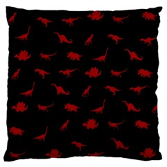 Dinosaurs Pattern Standard Flano Cushion Case (two Sides) by ValentinaDesign