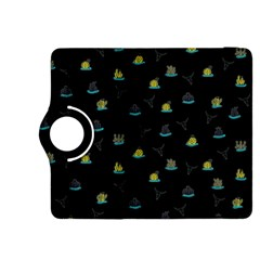 Cactus Pattern Kindle Fire Hdx 8 9  Flip 360 Case by ValentinaDesign