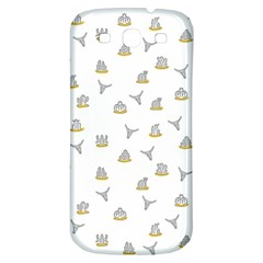 Cactus Pattern Samsung Galaxy S3 S Iii Classic Hardshell Back Case by ValentinaDesign