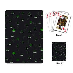 Cactus Pattern Playing Card by ValentinaDesign