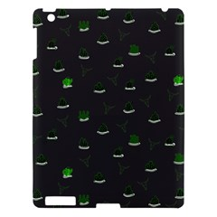 Cactus Pattern Apple Ipad 3/4 Hardshell Case by ValentinaDesign