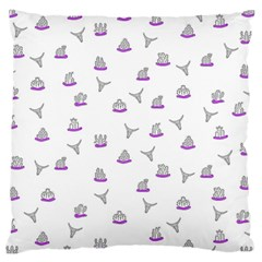 Cactus Pattern Large Cushion Case (one Side) by ValentinaDesign