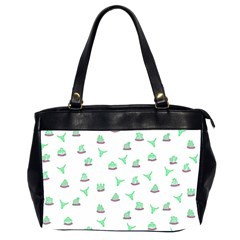 Cactus Pattern Office Handbags (2 Sides)  by ValentinaDesign