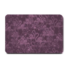 Flamingo Pattern Small Doormat  by ValentinaDesign