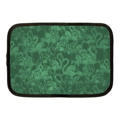 Flamingo Pattern Netbook Case (medium)  by ValentinaDesign