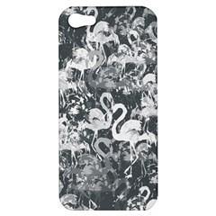 Flamingo Pattern Apple Iphone 5 Hardshell Case by ValentinaDesign