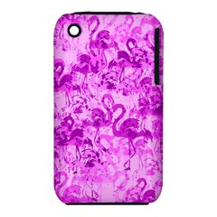 Flamingo Pattern Iphone 3s/3gs by ValentinaDesign