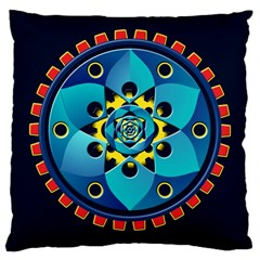 Abstract Mechanical Object Large Cushion Case (two Sides) by linceazul