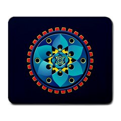 Abstract Mechanical Object Large Mousepads by linceazul