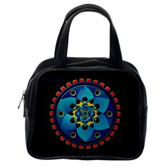 Abstract Mechanical Object Classic Handbags (one Side) by linceazul