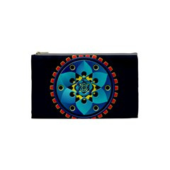 Abstract Mechanical Object Cosmetic Bag (small)  by linceazul