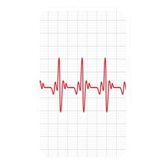 Cardiogram Vary Heart Rate Perform Line Red Plaid Wave Waves Chevron Memory Card Reader by Mariart