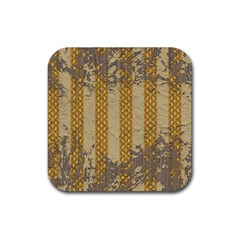 Wall Paper Old Line Vertical Rubber Coaster (square)  by Mariart