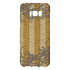 Wall Paper Old Line Vertical Samsung Galaxy S8 Plus Hardshell Case