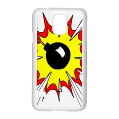 Book Explosion Boom Dinamite Samsung Galaxy S5 Case (white) by Mariart