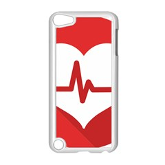 Cardiologist Hypertension Rheumatology Specialists Heart Rate Red Love Apple Ipod Touch 5 Case (white) by Mariart