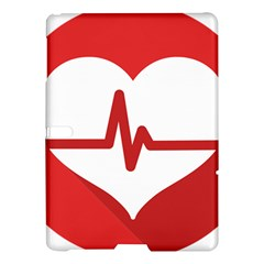 Cardiologist Hypertension Rheumatology Specialists Heart Rate Red Love Samsung Galaxy Tab S (10 5 ) Hardshell Case  by Mariart