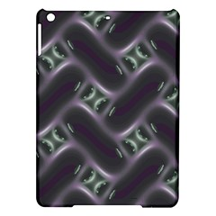 Closeup Purple Line Ipad Air Hardshell Cases by Mariart