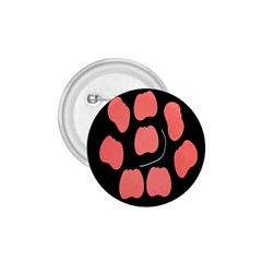 Craft Pink Black Polka Spot 1 75  Buttons by Mariart