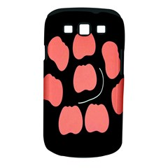 Craft Pink Black Polka Spot Samsung Galaxy S Iii Classic Hardshell Case (pc+silicone) by Mariart