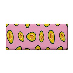 Fruit Avocado Green Pink Yellow Cosmetic Storage Cases by Mariart