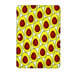 Avocados Seeds Yellow Brown Greeen Samsung Galaxy Tab 2 (10 1 ) P5100 Hardshell Case  by Mariart