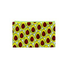 Avocados Seeds Yellow Brown Greeen Cosmetic Bag (xs) by Mariart