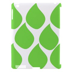 Green Water Rain Apple Ipad 3/4 Hardshell Case (compatible With Smart Cover) by Mariart
